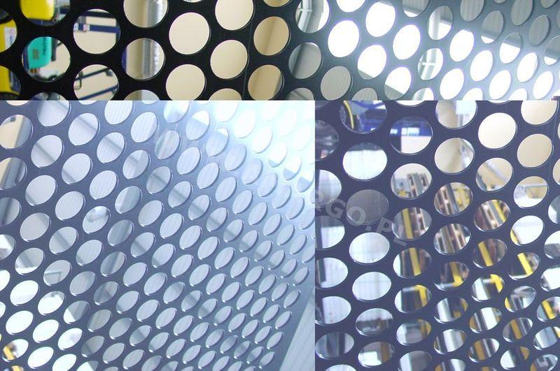 płyta z wycinanymi maszynowo otworami jak wkładu autoklawów, separatorów itp