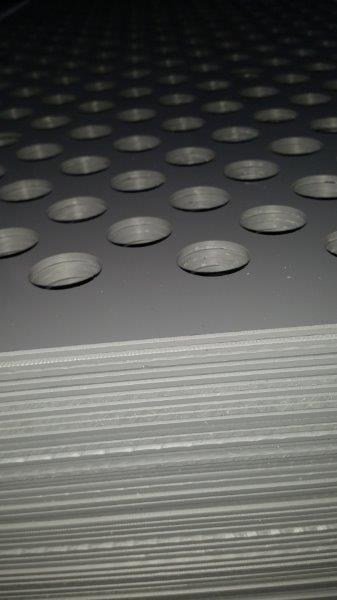 PP drilled boring machine isoster tensile pp plastic shapes resistance