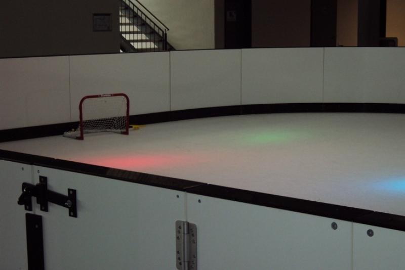 lodowisko do rekreacji - sportowe