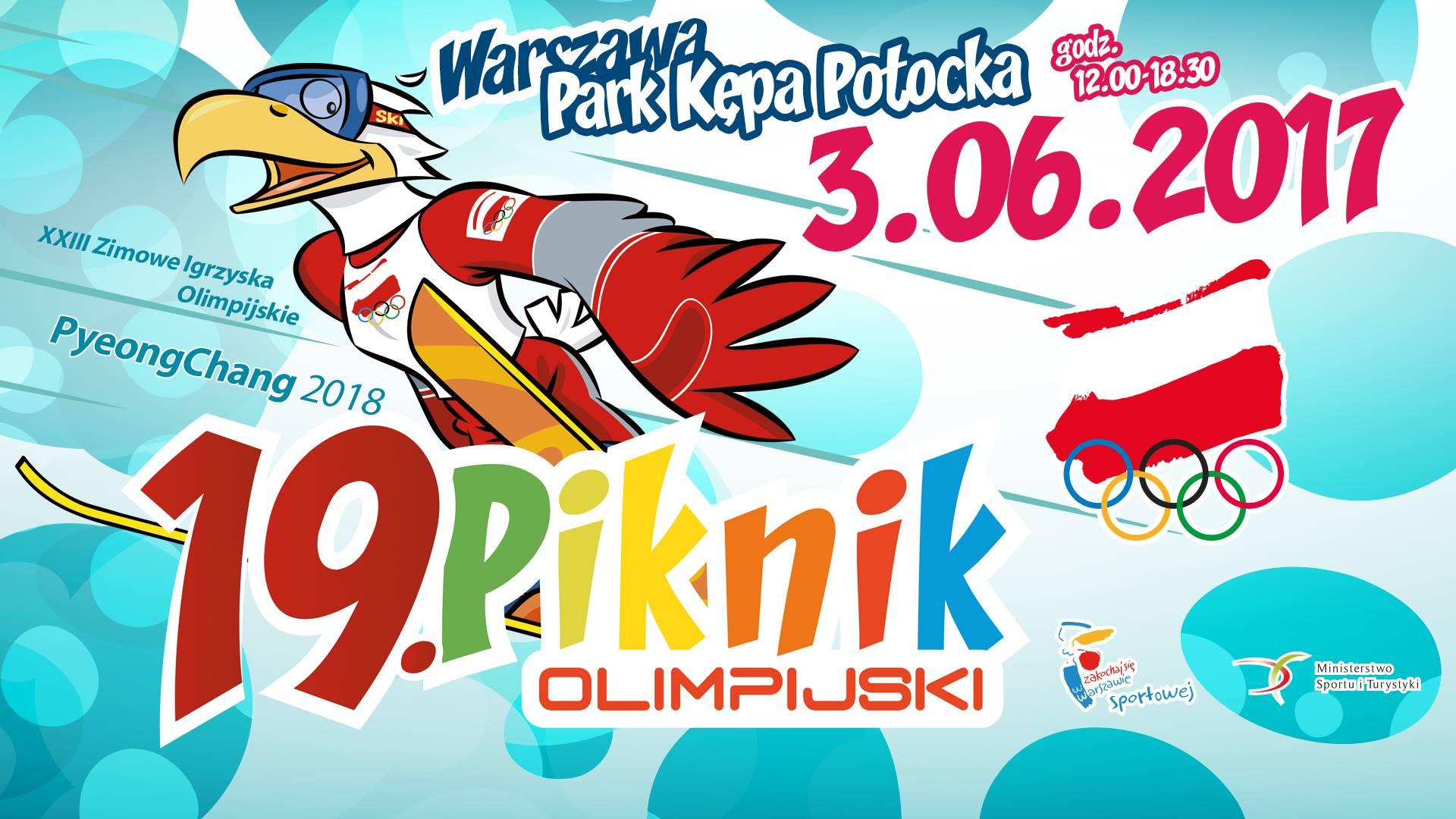 Na 19. Pikniku Olimpijskim będzie okazja poślizgać się na łyżwach
