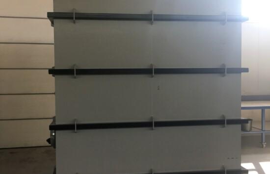 Dobór zbiornika do celów pożarowych, wewnętrznego, produkowanego, spawanego na miejscu, do instalacji podłączenie, uruchomienie, kompleksowo
