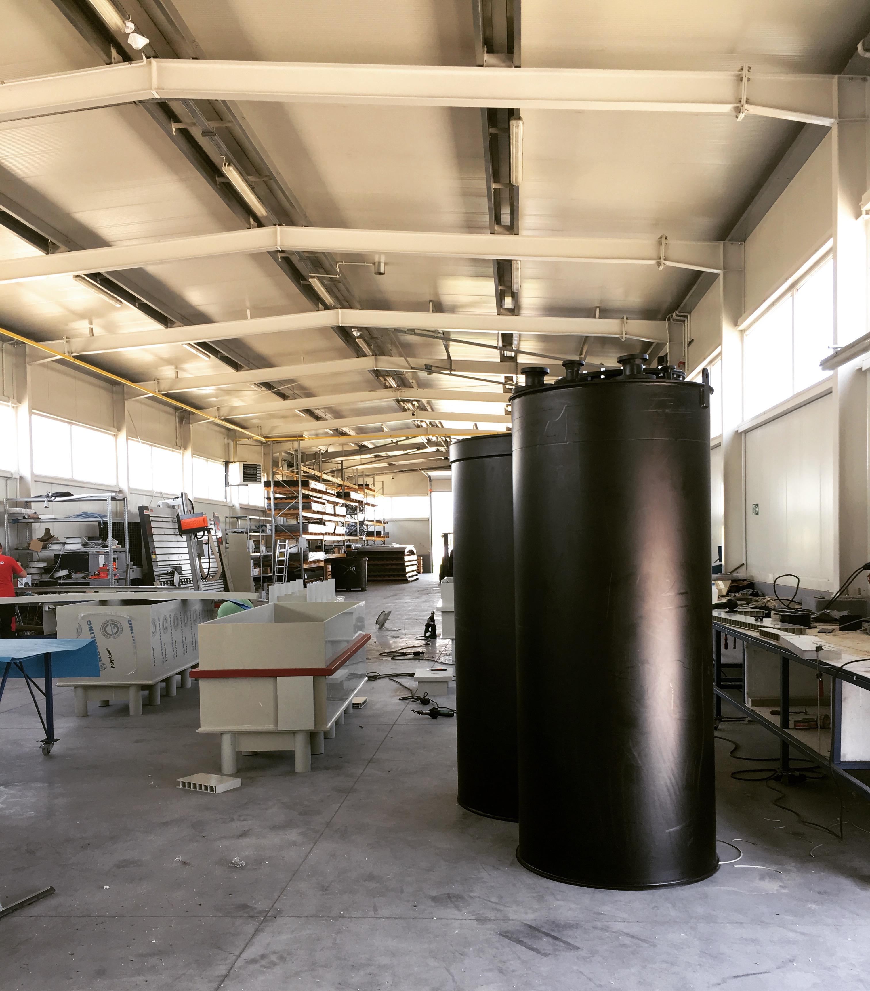 Modernizacja zbiornika koagulantu - AMARGO