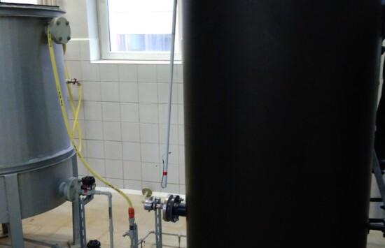Zbiorniki do chemii z systemem grzewczym, wykonane z tworzywa sztucznego
