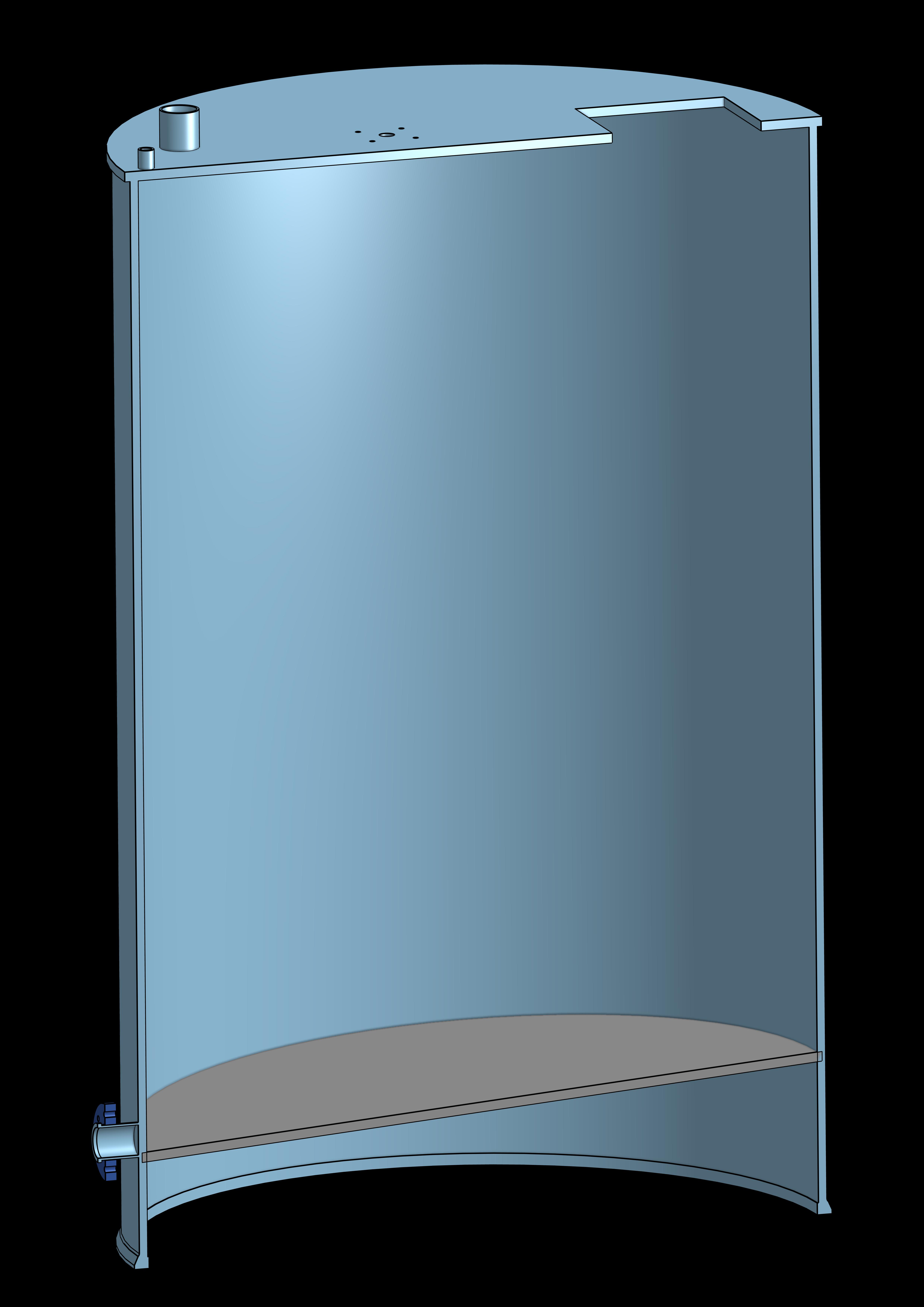zbiorniki procesowe do zakładu produkcyjnego chemii użytkowej