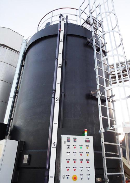 Zbiornik magazynowy dwupłaszczowy, izolowany - dozorowy (UDT)