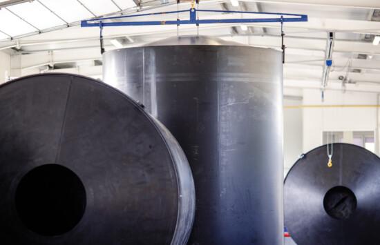 Zbiorniki do magazynowania chemikaliów dozorowe UDT