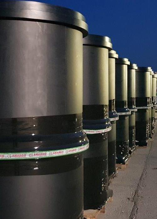 Zbiorniki chemoodporne do kiszenia kapusty i ogórków na skalę przemysłową