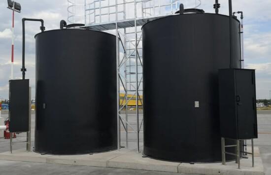 Zbiorniki przemysłowe poddozorowe UDT chemoodporne