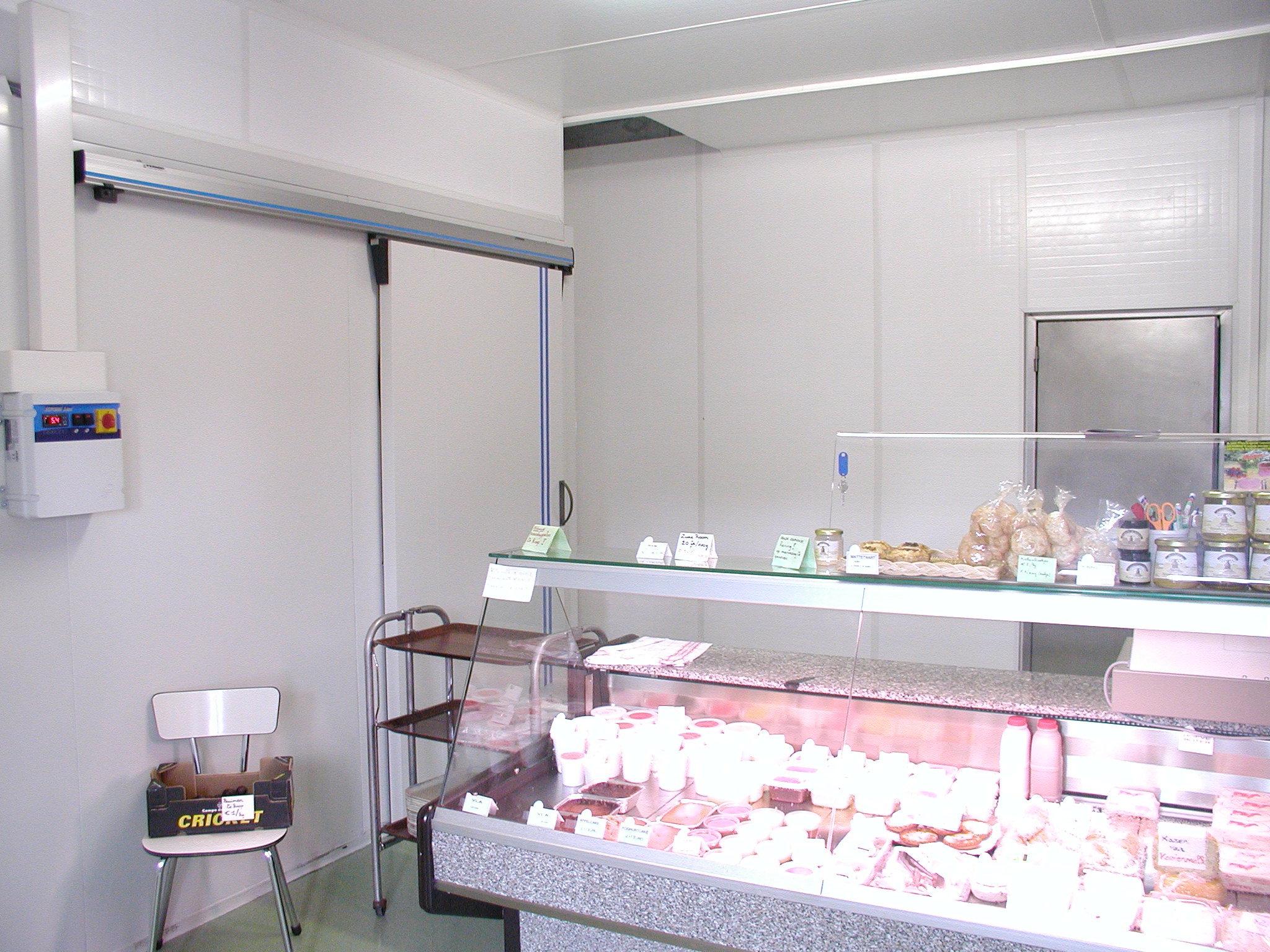Plastikowe ściany działowe systemowe modułowe z plastiku PP polipropylenu, łatwe w utrzymaniu czystości