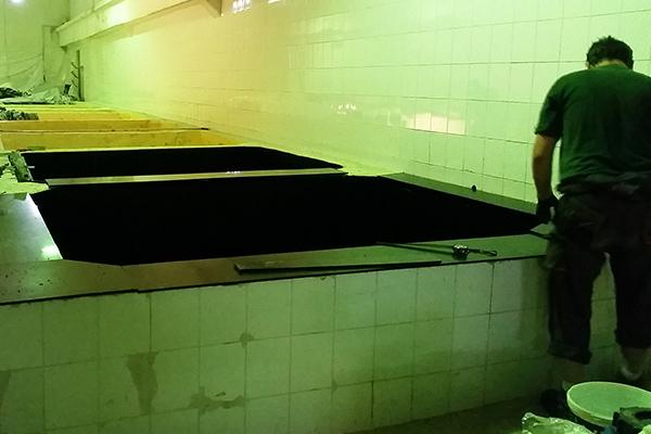Izolacja zbiorników do kiszenia wykładziną chemoodporną z tworzywa