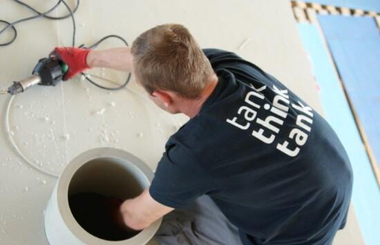 Budowa urządzeń / systemów oczyszczania gazów złowonnych dla producenta tłuszczów spożywczych (dużo zdjęć)