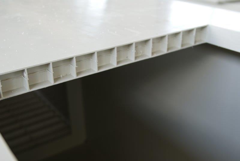 copolimerowa polipropylenowa budowa z dwóch ścianek uv stabilizowane