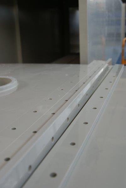 elementy skrętne obróbka cnc ploter polipropylen zbiorniki obudowy hurt
