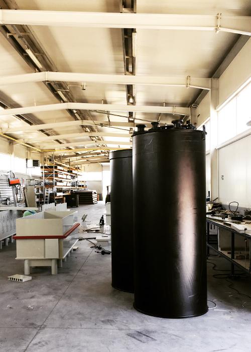 modernizacja remont renowacja zbiorników chemoodpornych z tworzywa