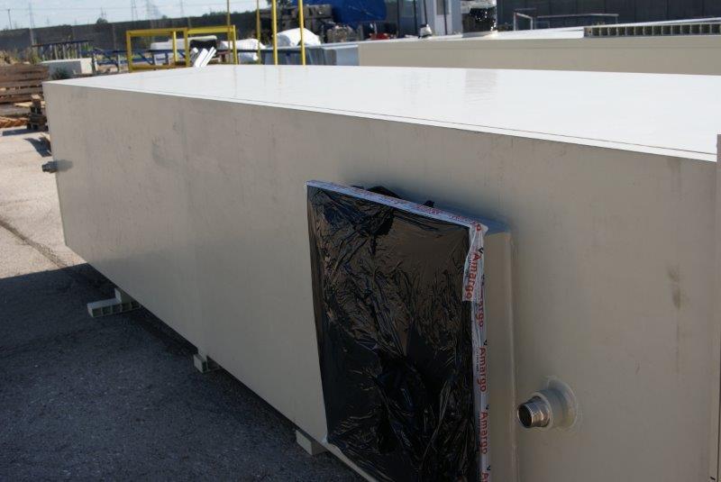 odrzutowe gazy odpadowe stopień oczyszczania na złożu zwilżanym