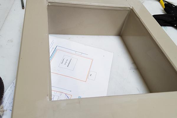 wziernik do zbiornika z pp do obserwacji procesów w środku zasobnika pp polipropylenowe i szkło plexia pmma poliwęglan