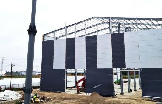 Rozwój to nasze drugie imię – trwa budowa nowej hali produkcyjnej Amargo