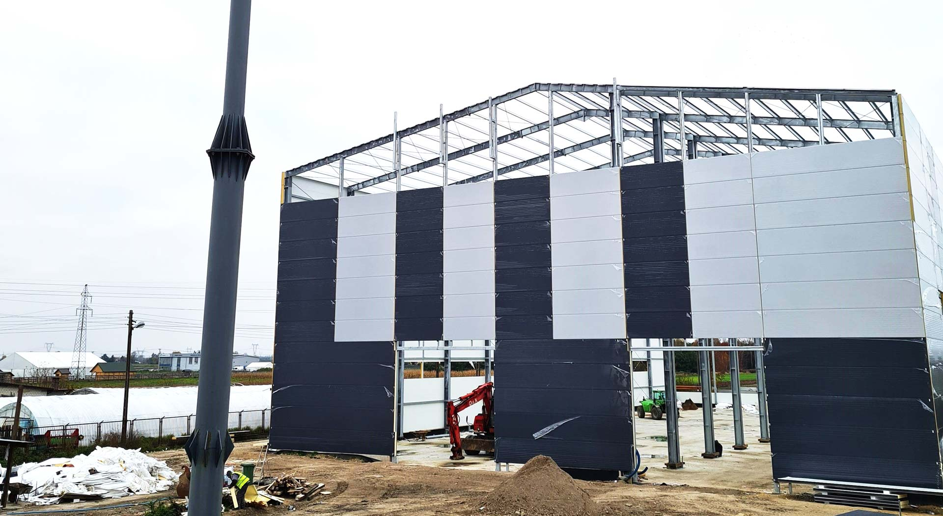 budowa hali produkcyjnej amargo producent zbiorników bezciśnieniowych z tworzyw sztucznych termoplastycznych magazynowe na wodę