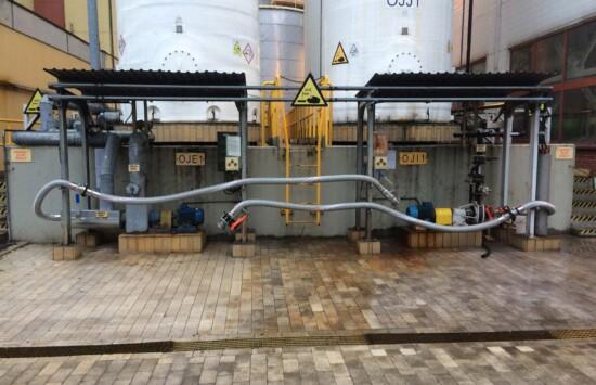 Urządzenia do napełniania i opróżniania zbiorników – stacje UNO