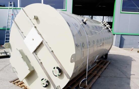 zbiorniki bezciśnieniowe procesowe z mieszadłem dla producenta chemii gospodarczej