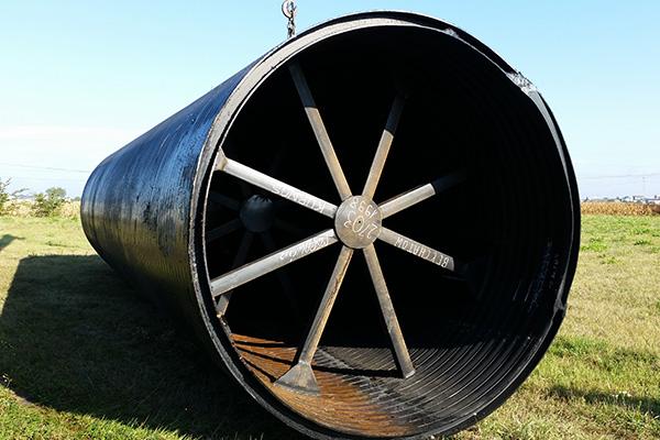zbiorniki podziemne cylindryczne z rury dwuściennej do magazynowania chemikaliów i retencji wody pitnej i przeciwpożarowej