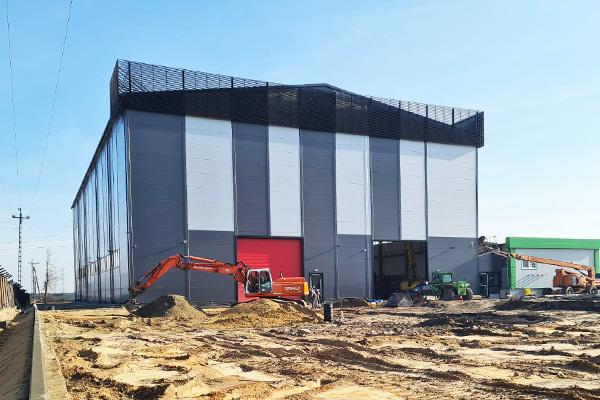 budowa nowoczesnej hali producenta zbiorników z tworzyw termoplastycznych dla przemysłu